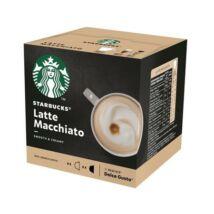 "Kávékapszula, 12 db, STARBUCKS, ""Latte Macchiato"""