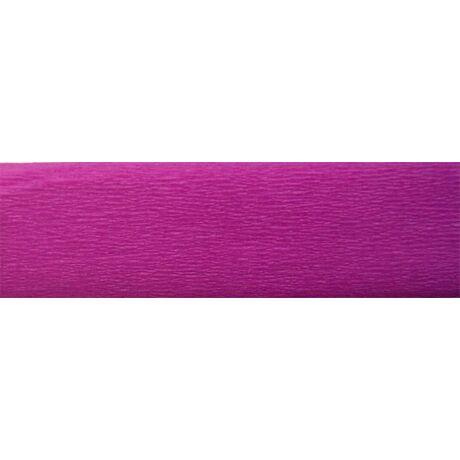 Krepp papír 50x200 cm, rózsavörös