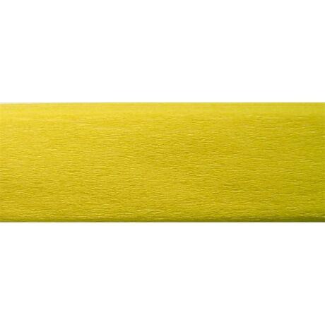 Krepp papír 50x200 cm, citromsárga