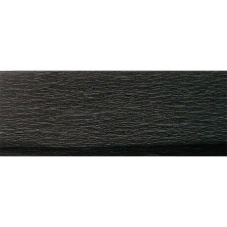 Krepp papír 50x200 cm, fekete