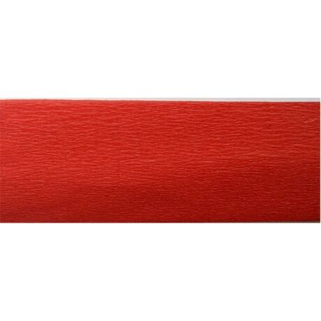 Krepp papír 50x200 cm, piros