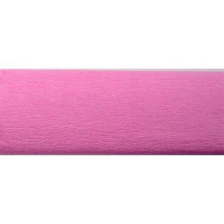 Krepp papír 50x200 cm, rózsaszín