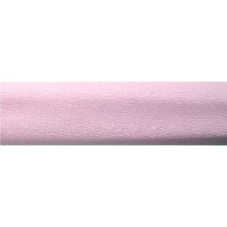 Krepp papír 50x200 cm, világosrózsaszín