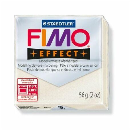 """Gyurma, 56 g, égethető, FIMO """"Effect"""", metál gyöngyház"""