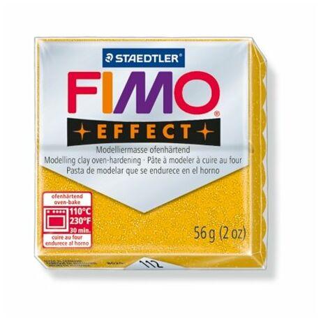 """Gyurma, 56 g, égethető, FIMO """"Effect"""", csillámos arany"""
