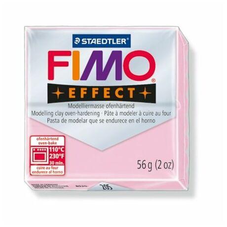 """Gyurma, 56 g, égethető, FIMO """"Effect"""", pasztell rózsaszín"""