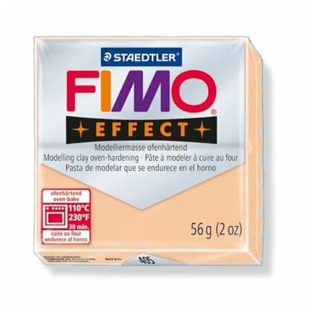 """Gyurma, 56 g, égethető, FIMO """"Effect"""", pasztell őszibarack"""
