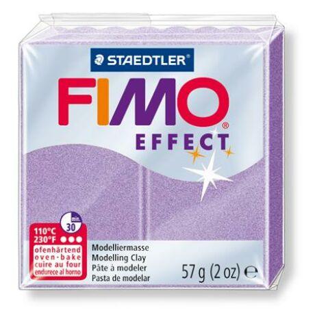 """Gyurma, 57 g, égethető, FIMO """"Effect"""", lila gyöngyház"""