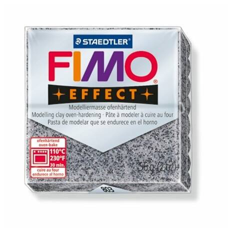 "Gyurma, 56 g, égethető, FIMO ""Effect"", gránit hatású"