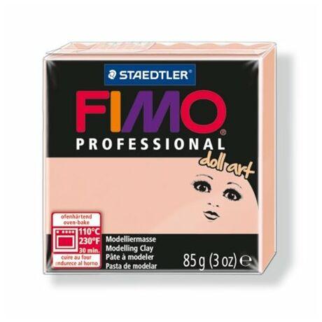 """Porcelángyurma, 85 g, FIMO """"Professional Doll Art"""", áttetsző rózsaszín"""