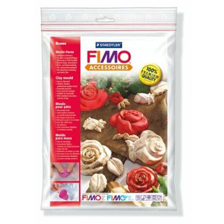 Öntőforma, FIMO, rózsák