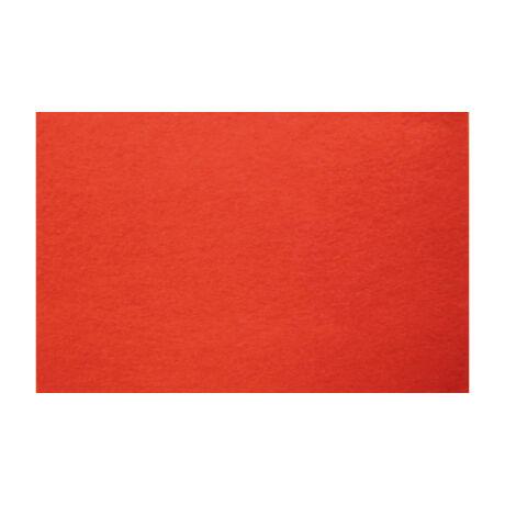 Cre Art kemény filclap A/4, piros