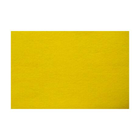 Cre Art kemény filclap A/4, citromsárga