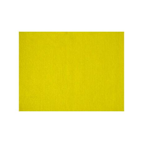 Cre Art öntapadó filclap A/4, citromsárga
