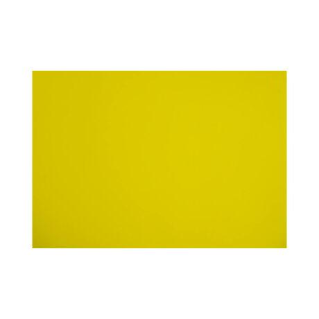 Cre Art dekorgumi lap, A/4, 2mm, citromsárga