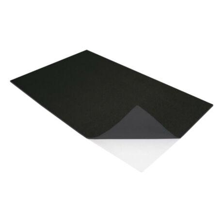 Cre Art öntapadó dekorgumi lap, A/4, 2mm, fekete