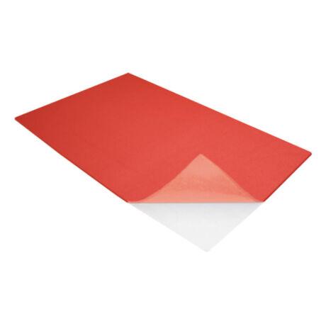 Cre Art öntapadó dekorgumi lap, A/4, 2mm, piros
