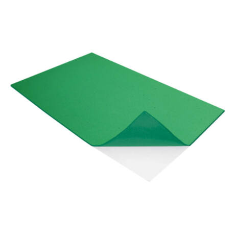 Cre Art öntapadó dekorgumi lap, A/4, 2mm, sötétzöld