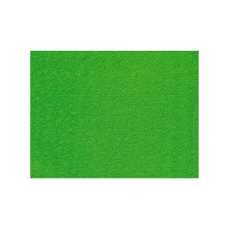 Cre Art bolyhos dekorgumi lap, A/4, 2 mm, világoszöld