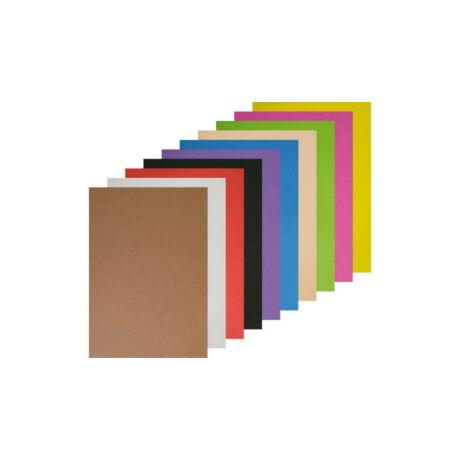 Cre Art dekorgumi lap, A/4-es, 2mm-es, vegyes színekben, 10 db-os csomagban