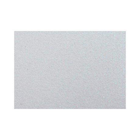 Cre Art csillámos dekorgumi lap, A/4, 2mm, fehér
