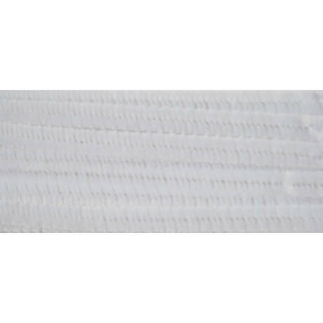 Cre Art zsenília 6 mm x 300 mm, 100 db/csomag, fehér