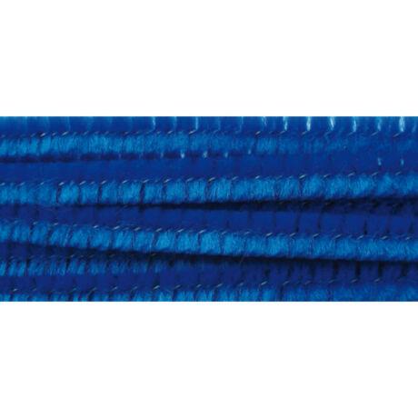 Cre Art zsenília 6 mm x 300 mm, 100 db/csomag, királykék