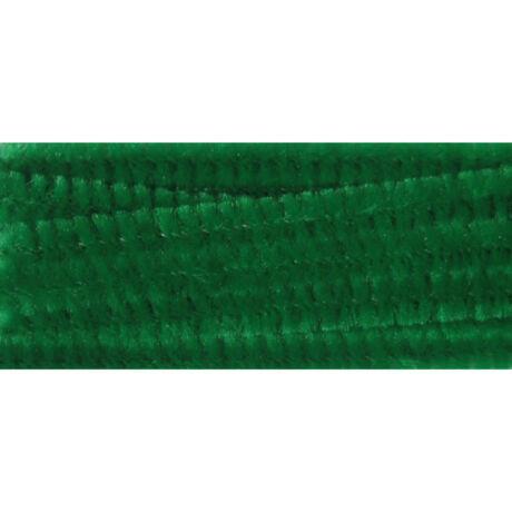 Cre Art zsenília 6 mm x 300 mm, 100 db/csomag, sötétzöld