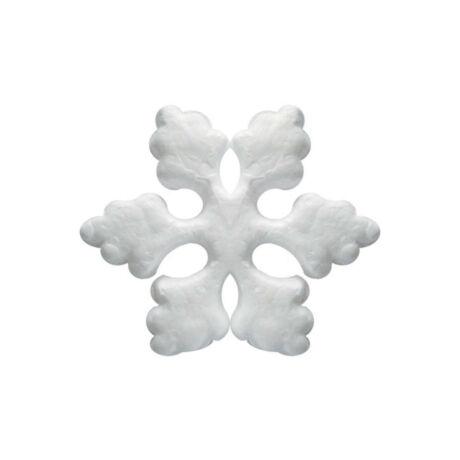 Cre Art hungarocell hópehely, 100 mm