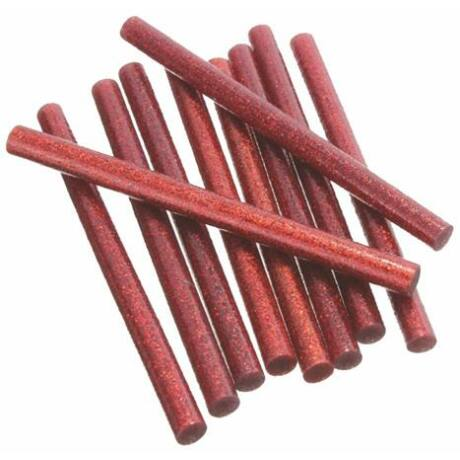 Csillámos ragasztó stick, 3 db, 11 x 200 mm, piros