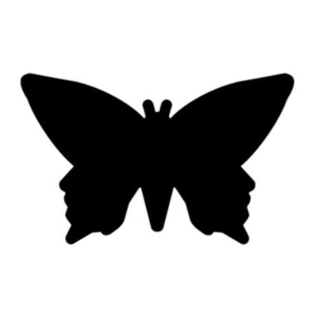 Cre Art formalyukasztó dekorgumihoz 16 mm, pillangó