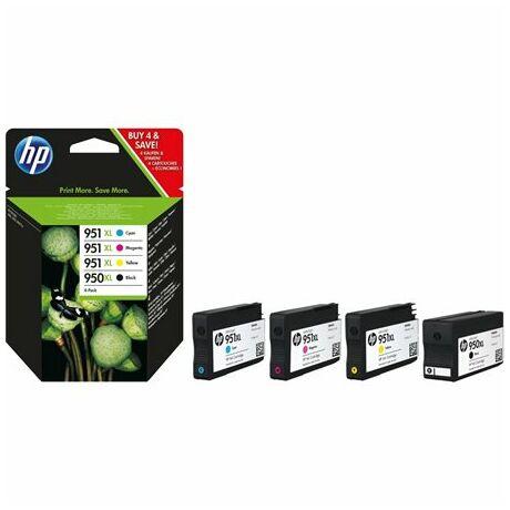 Tintapatron multipack OfficeJet Pro 8100 nyomtatóhoz, HP 950xl/951xl, 2,3K+3*1,5K
