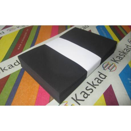 "Boríték Kaskad LC/6 ""99"" fekete 50db/csg"