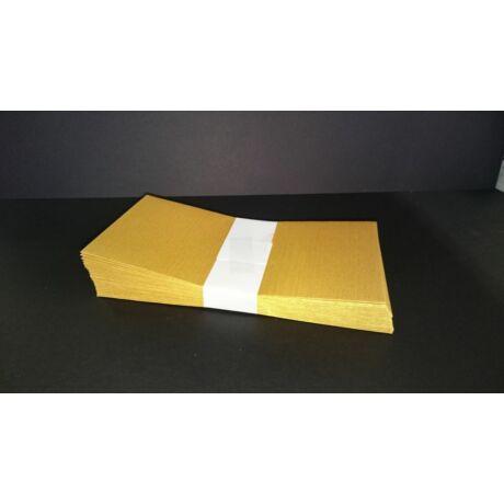 Boríték LA/4 szilikonos, arany színű 25db/csg