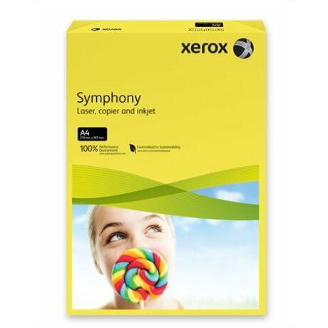"""Másolópapír, színes, A4, 160 g, XEROX """"Symphony"""", sötétsárga (intenzív)"""