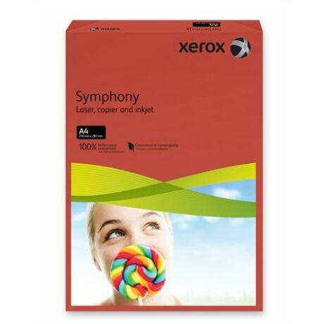 """Másolópapír, színes, A4, 160 g, XEROX """"Symphony"""", sötétpiros (intenzív)"""