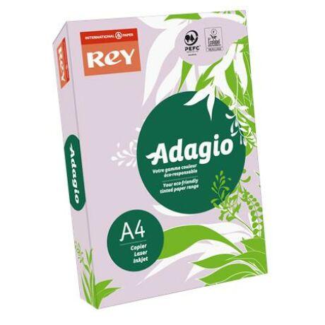"""Másolópapír, színes, A4, 80 g, REY """"Adagio"""", intenzív lila"""