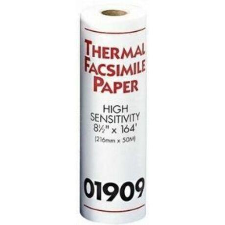 Faxpapír 210 mm x 15 m vékony tekercses