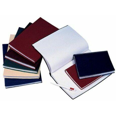 Beírókönyv PVC fedéllel A/4-es kockás 100 lapos