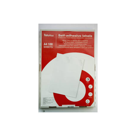 Etikett FOROFFICE körcímke 40 mm átmérő