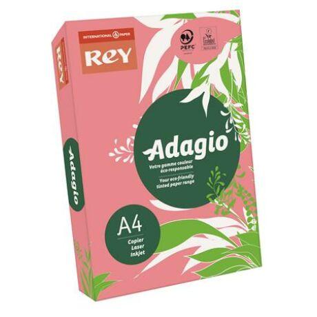 """Másolópapír, színes, A4, 80 g, REY """"Adagio"""", neon málna"""