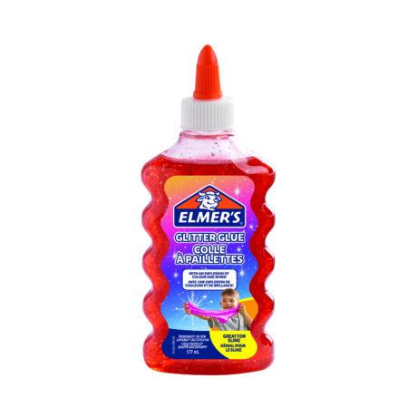 ELMER'S GLITTERES SLIME RAGASZTÓ PIROS 177ML 2109489