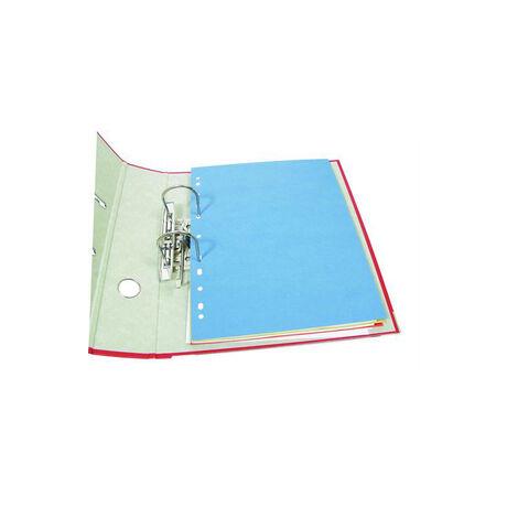 Elválasztó kartonlap FORNAX 225x297 mm 100 db/csom vegyes színek