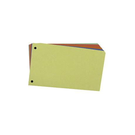 Elválasztó lap FORNAX 10,5x24cm sárga 100db