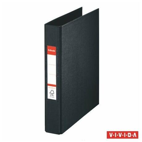 """Gyűrűs könyv, 2 gyűrű, 42 mm, A5, PP, ESSELTE """"Standard"""", Vivida 4 színben"""