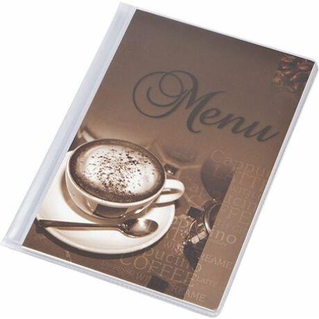 """Étlaptartó, A5, PANTA PLAST """"Café"""" , kávé"""