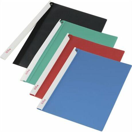 Gyorsfűző, hosszú klipes, PP, A4, PANTA PLAST 4 színben