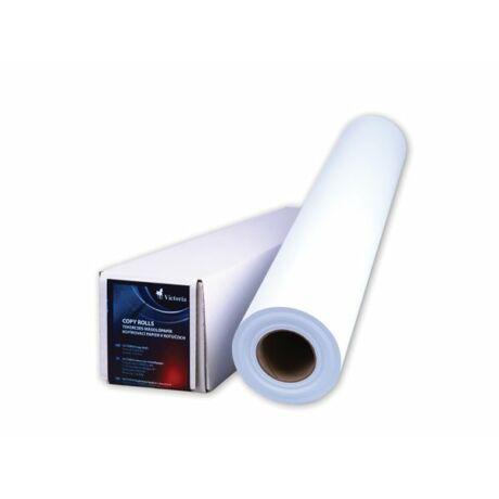 Másolópapír, tekercses, A1, 594 mm x 50 m x 50 mm, 80 g, VICTORIA
