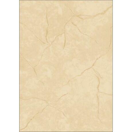 Előnyomott papír, kétoldalas, A4, 90 g, SIGEL, bézs, gránit