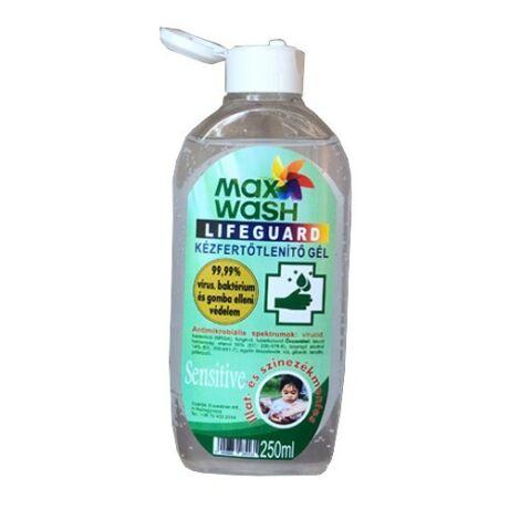 MaxWash kézfertőtlenítő gél sensitive 250ml